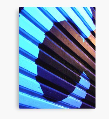 deep blue C  Canvas Print