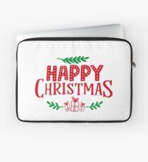 HAPPY CHRISTMAS  Laptop Sleeve