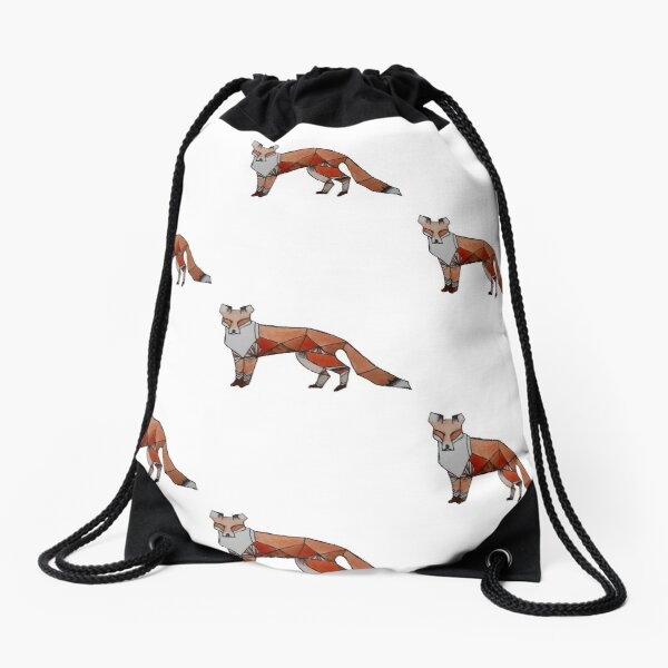 Foxly Loxy Drawstring Bag