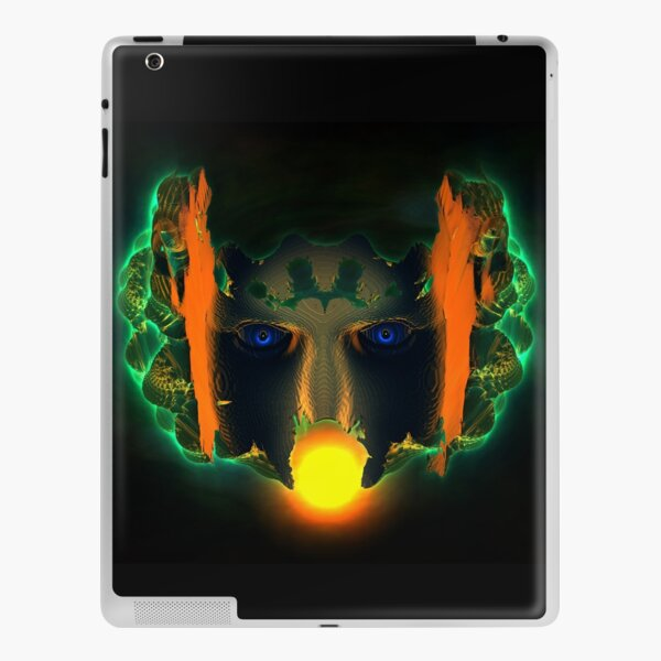 The Curse Of The Muted Valley by Spaced Painter iPad Skin