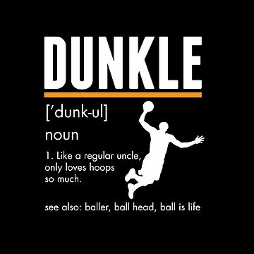 Dunkle Dunk Uncle by TheTeeSupplyCo