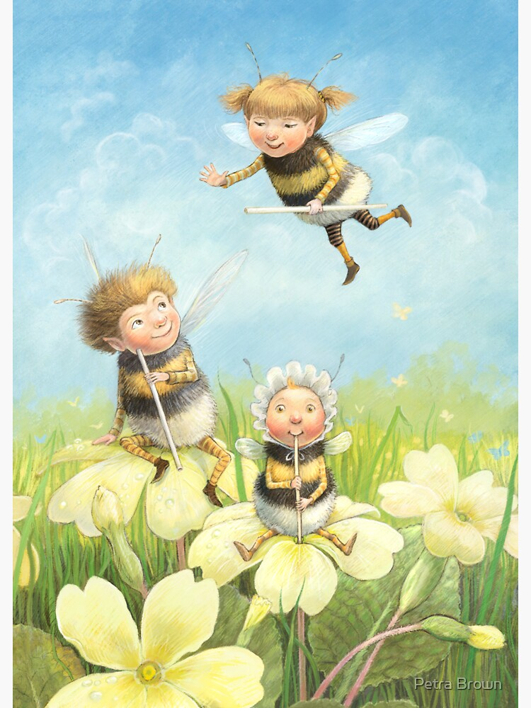 The Bimbles - Cute bee-pixie family by mydododied