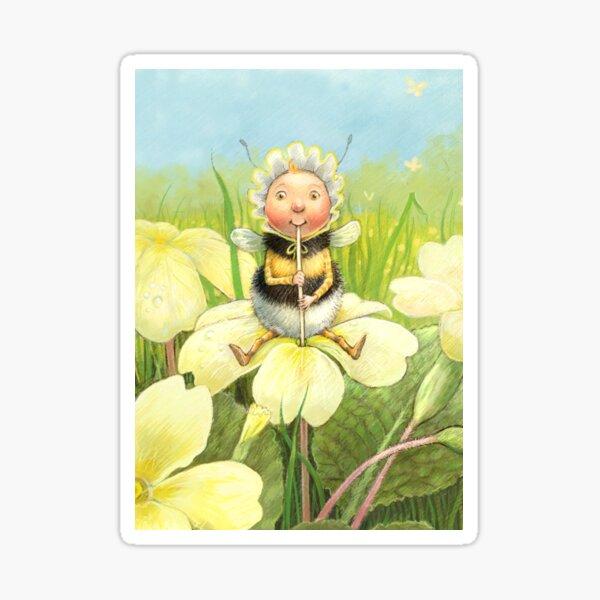 'Beebod' - cute bee-pixie Sticker