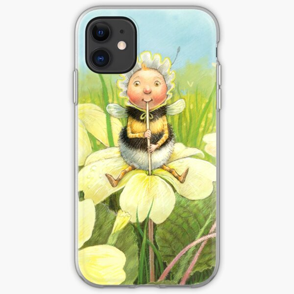 'Beebod' - cute bee-pixie iPhone Soft Case