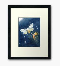 Snip - cute spark-pixie Framed Art Print