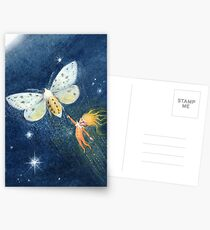 Snip - cute spark-pixie Postcards