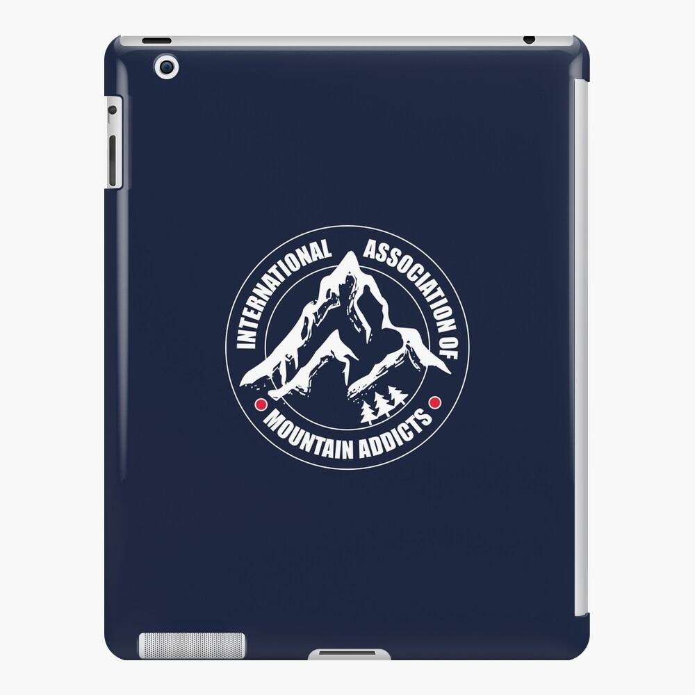 International Association of Mountain addicts badge iPad Case & Skin
