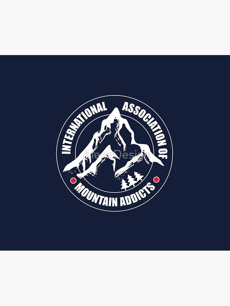 International Association of Mountain addicts badge by AlexaDesign