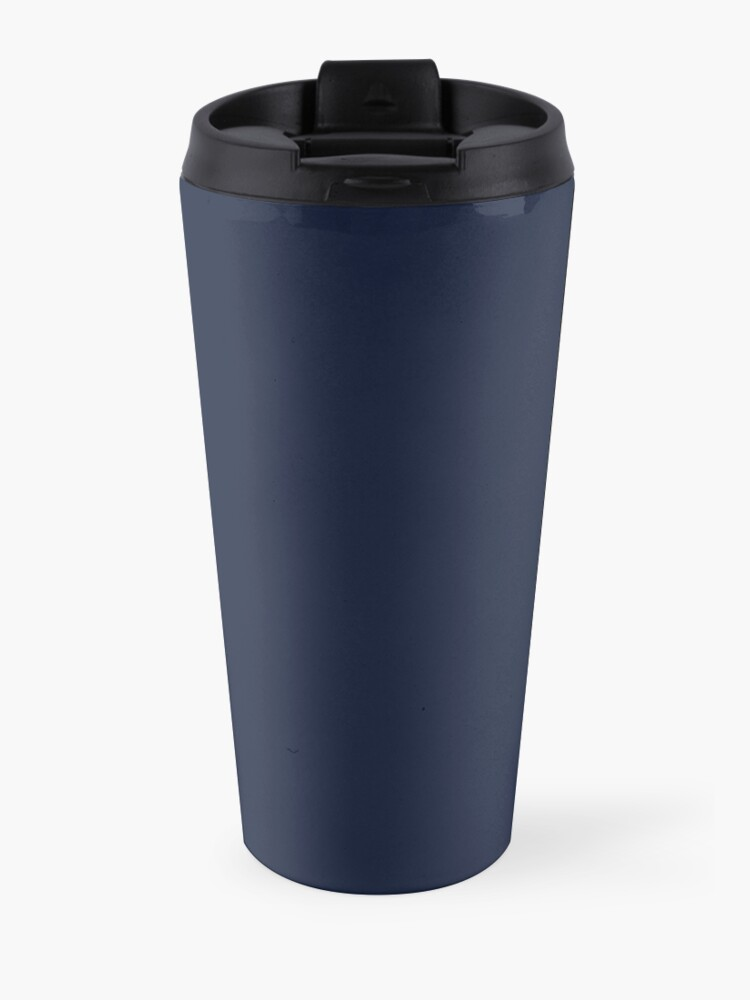 Alternate view of International Association of Mountain addicts badge Travel Mug