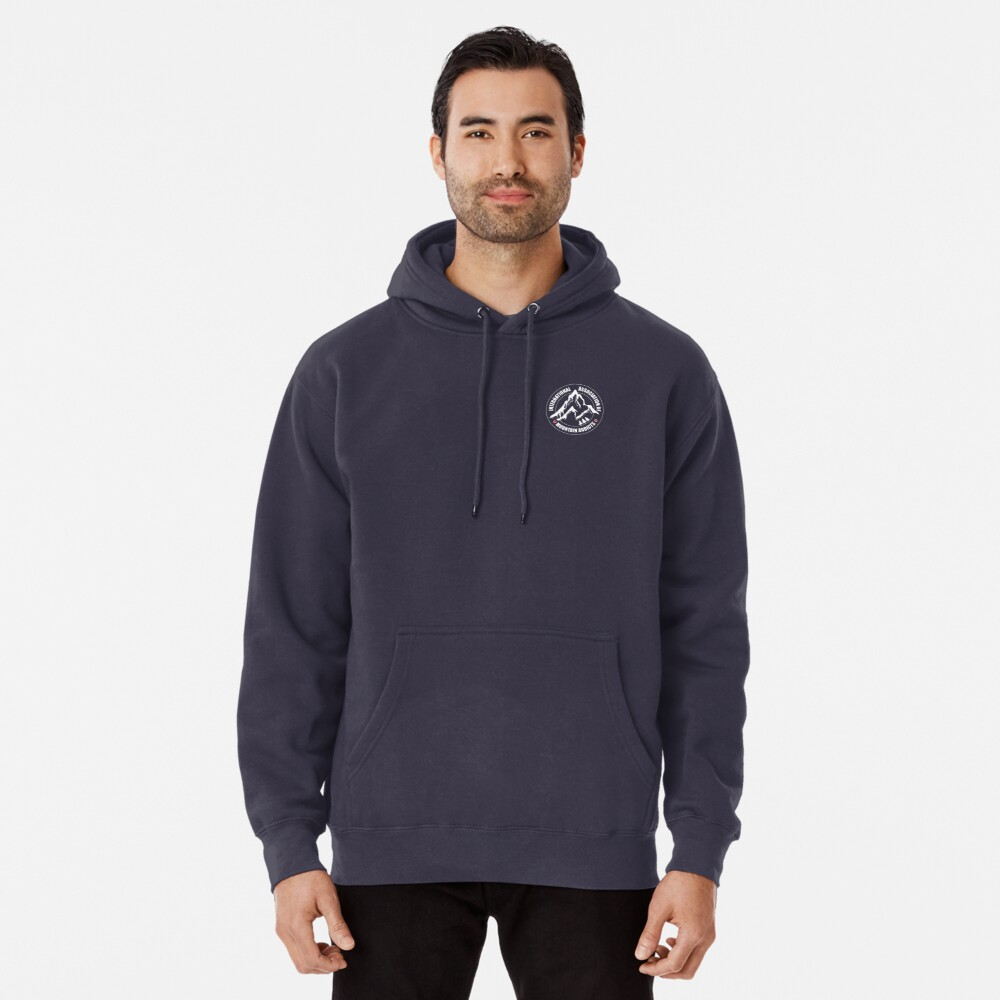 International Association of Mountain addicts badge Pullover Hoodie