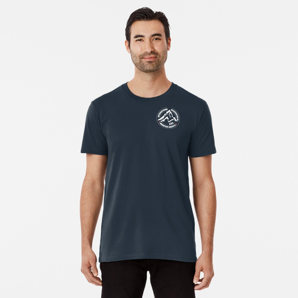 International Association of Mountain addicts badge Premium T-Shirt