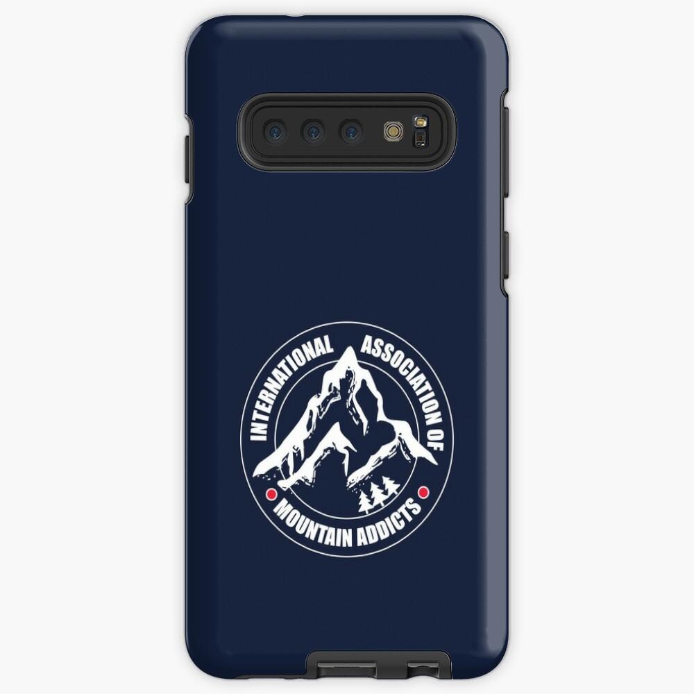 International Association of Mountain addicts badge Case & Skin for Samsung Galaxy