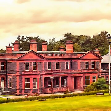 Cutra Manor, Ireland. (Painting.) by cmphotographs