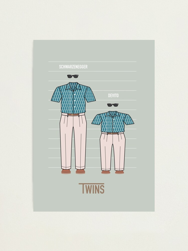 Alternate view of Twins Photographic Print