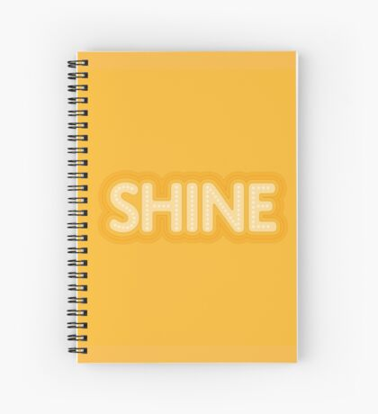 Shine Spiral Notebook