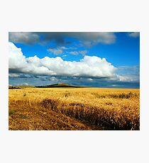 a wonderful Kazakhstan landscape Photographic Print