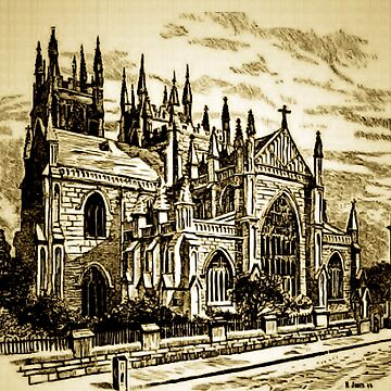 The Cathedral of St Andrews, Sydney, Australia, 1868 by ZipaC