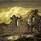 The Ruins of St Denys's Priory Church, Southampton, Hampshire 1124 by Dennis Melling