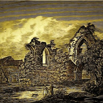 The Ruins of St Denys's Priory Church, Southampton, Hampshire 1124 by ZipaC