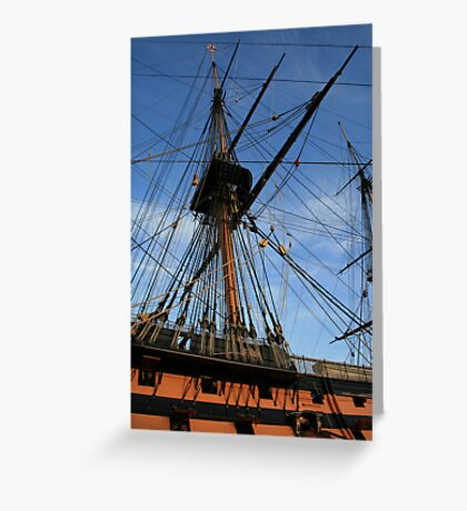 HMS Victory - A Bit On The Side Greeting Card