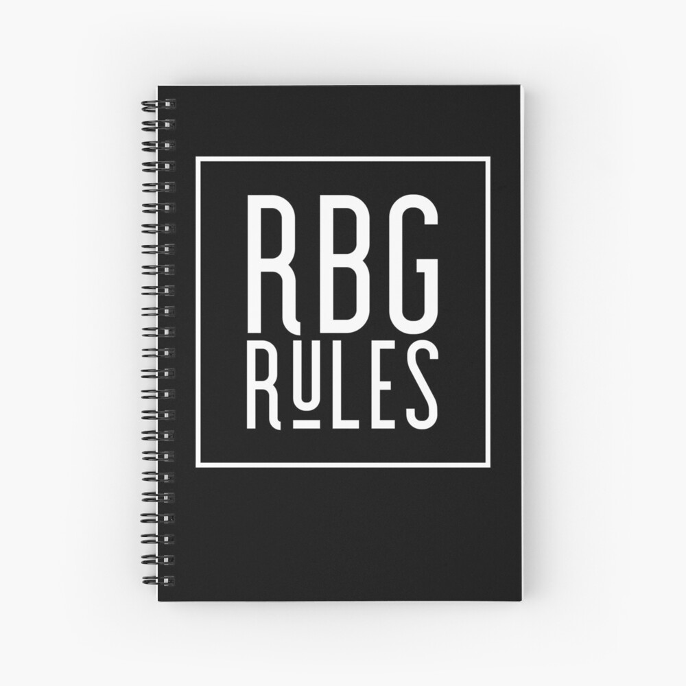 RBG Rules - Justice RBG Gifts Spiral Notebook
