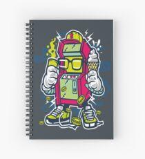 Game Machine Spiral Notebook