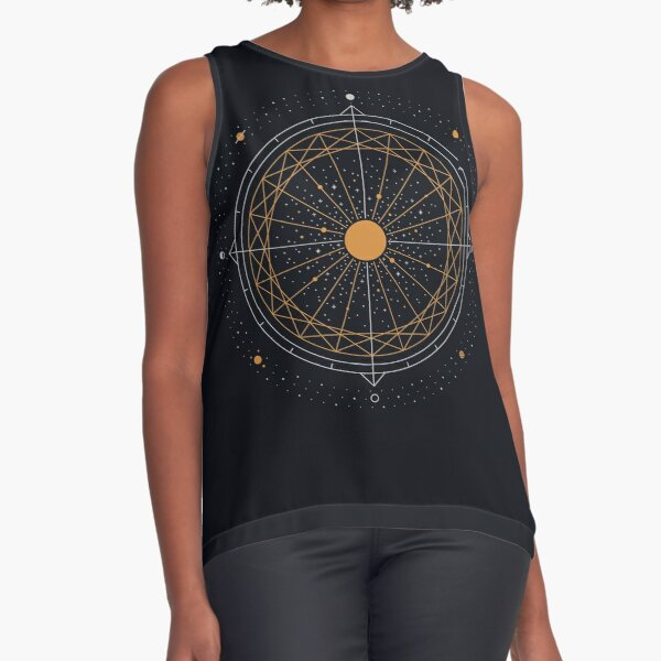Order Out Of Chaos Sleeveless Top