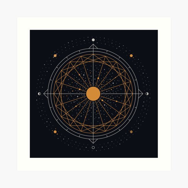 Order Out Of Chaos Art Print