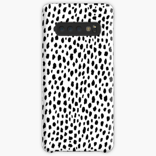 Dalmatian Spots (black/white) Samsung Galaxy Snap Case
