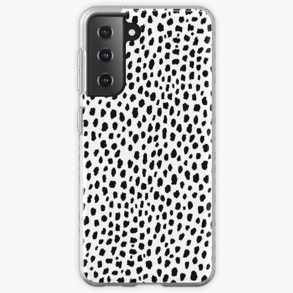 Dalmatian Spots (black/white) Samsung Galaxy Soft Case