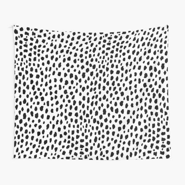 Dalmatian Spots (black/white) Tapestry