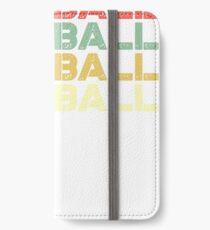 Vinilo o funda para iPhone balonmano vintage - balonmano retro