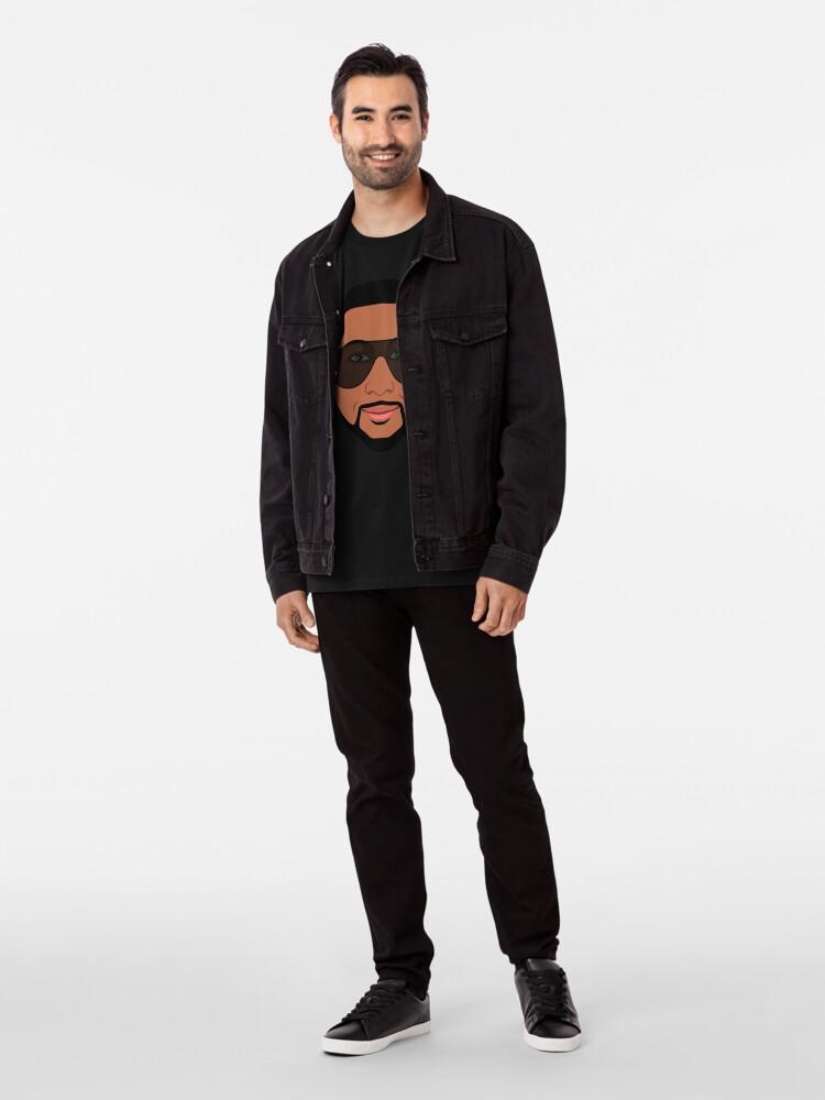 "Alternate view of Jahan Nostra ""Avatar"" Collection Premium T-Shirt"
