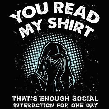 You have read my shirt by Britta75