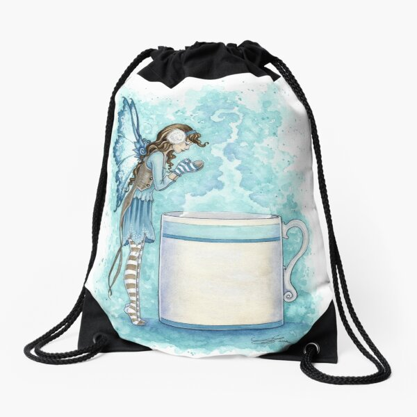 Hot Cocoa Drawstring Bag