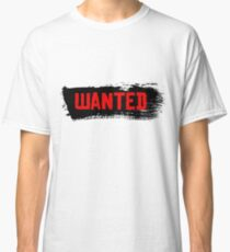 Red Dead Redemption 2 - Gesucht Classic T-Shirt
