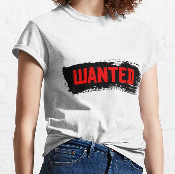 Red Dead Redemption 2 - Wanted Classic T-Shirt