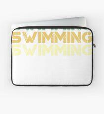 Vintage Schwimmen - Retro-Schwimmen Laptoptasche
