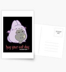 The Bunpire, Vampire Bunny Bat - Umarmen Sie Ihren Katzentag? Postkarten