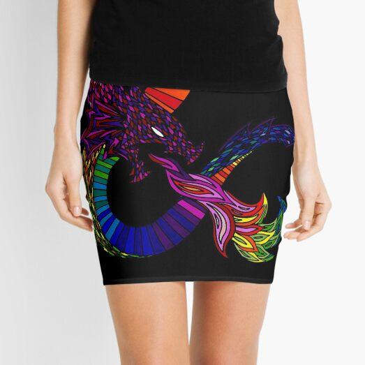 Alternative Dungeons and Dragons Ampersand Mini Skirt