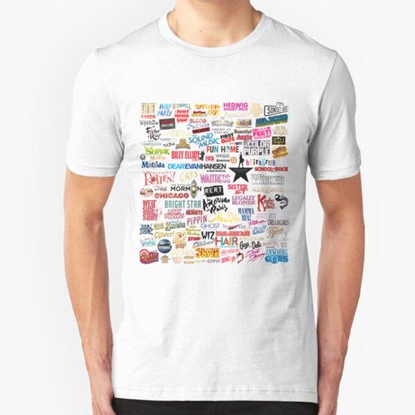 Musicales Camiseta ajustada