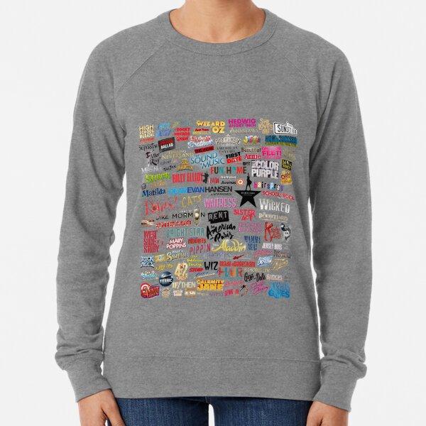 Musicals Lightweight Sweatshirt
