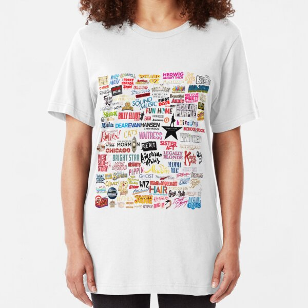Musicals Slim Fit T-Shirt