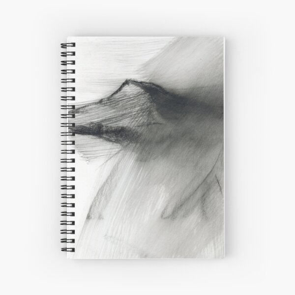 Win Hill Pike - Peak District, Derbyshire Landscape Spiral Notebook