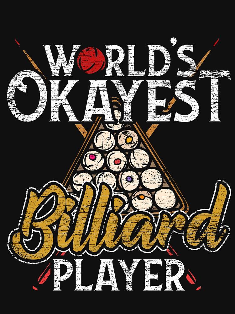 Billiards Snooker by GeschenkIdee