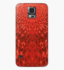 Sand Shadow - Red Case/Skin for Samsung Galaxy
