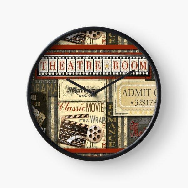 Theatre Room Clock