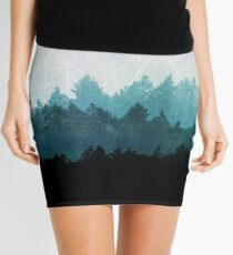 Woods Abstract Mini Skirt