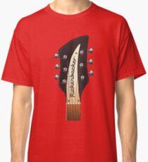 GUITAR HEADSTOCK ART - RICKENBACKER Classic T-Shirt