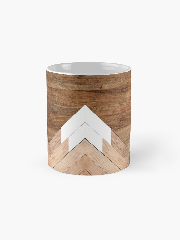 Alternate view of Wooden snow-capped mountains Mug